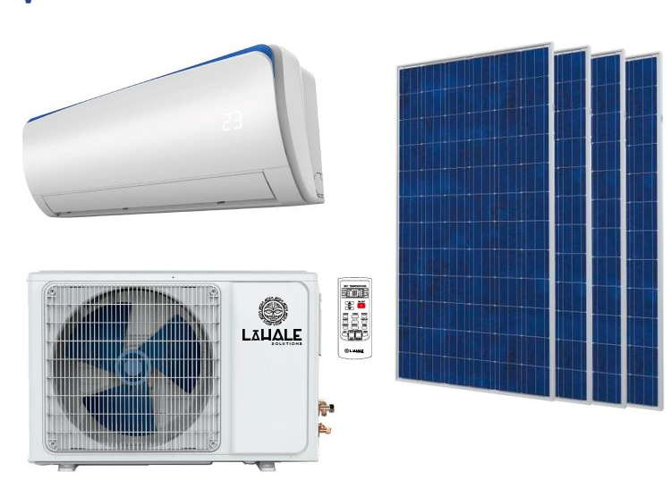 Lāanuanu Pv Powered Acdc Mini Split Air Conditioner Heat Pump